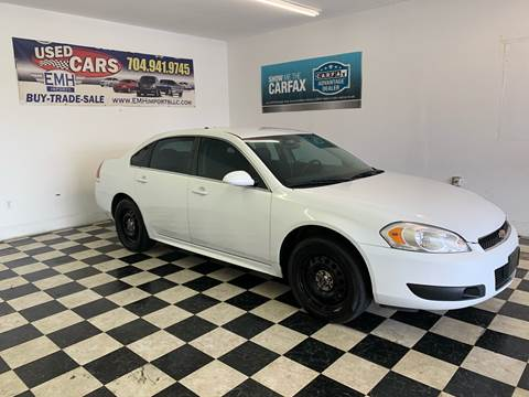 Used Car Dealerships In Charlotte Nc >> 2014 Chevrolet Impala Limited Police For Sale In Monroe Nc