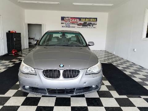 2007 BMW 5 Series for sale at EMH Imports LLC in Monroe NC