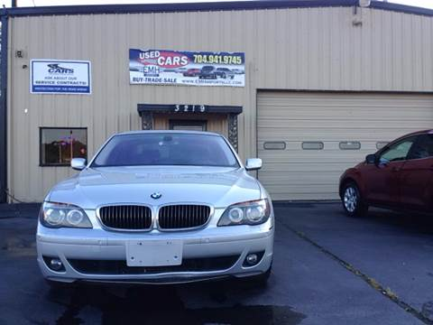 2006 BMW 7 Series for sale at EMH Imports LLC in Monroe NC