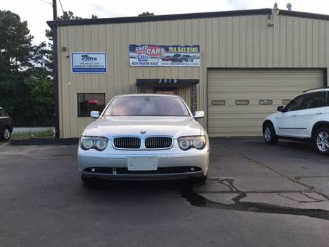 2005 BMW 7 Series for sale at EMH Imports LLC in Monroe NC