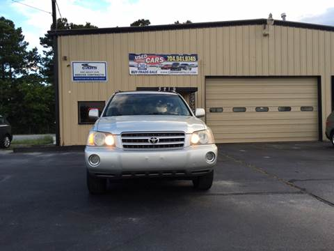2003 Toyota Highlander for sale at EMH Imports LLC in Monroe NC