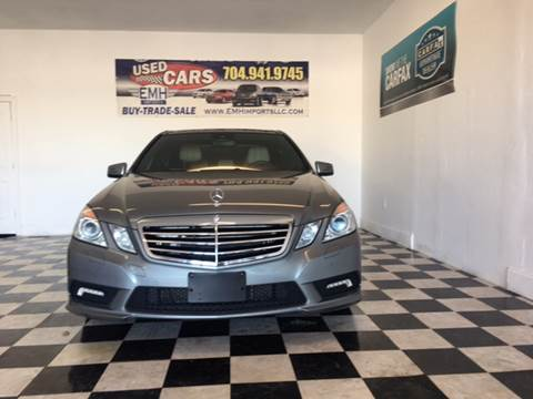 2011 Mercedes-Benz E-Class for sale at EMH Imports LLC in Monroe NC