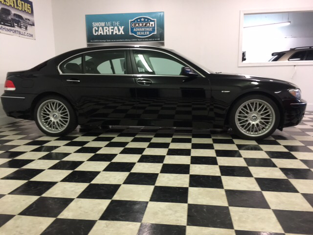 2006 Bmw 7 Series 750Li 4dr Sedan In Monroe NC - EMH Imports LLC