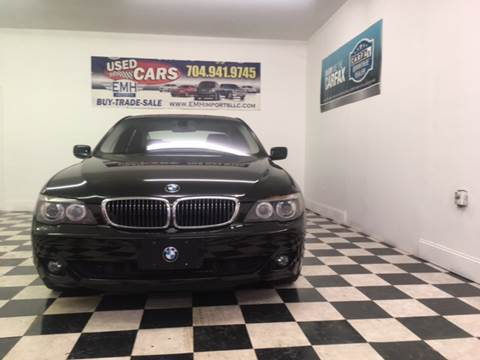 2007 BMW 7 Series for sale at EMH Imports LLC in Monroe NC