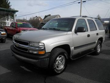 2004 Chevrolet Tahoe for sale in Lewistown, PA