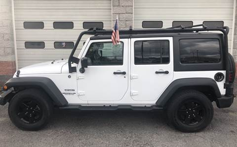 2015 Jeep Wrangler Unlimited for sale in Glenville, NY