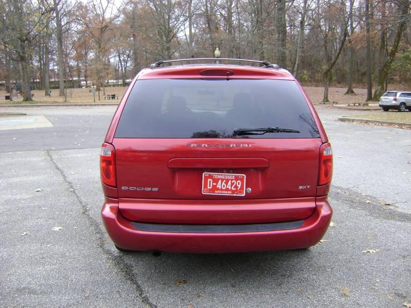 2007 Dodge Grand Caravan SXT 4dr Extended Mini-Van In Memphis TN ...