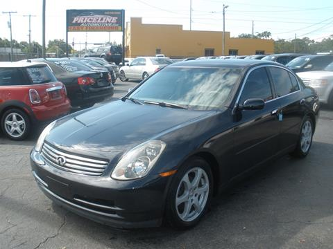 2003 Infiniti G35 for sale in Tampa, FL