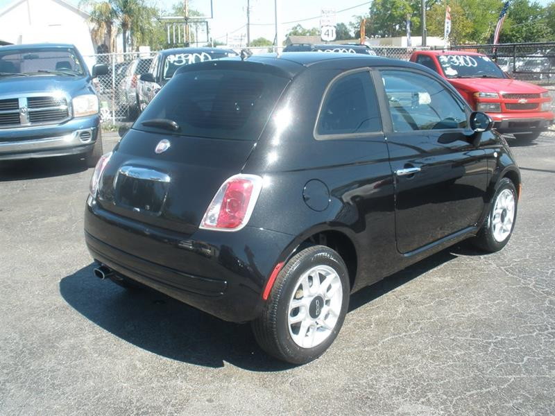 2013 Fiat 500 Pop 2dr Hatchback In Tampa FL - Priceline Automotive
