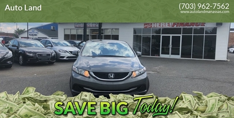 2013 Honda Civic for sale in Manassas, VA