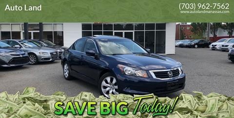 2010 Honda Accord for sale in Manassas, VA