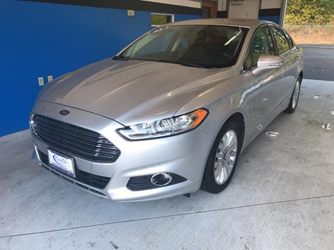 2013 Ford Fusion Hybrid for sale in Olympia WA