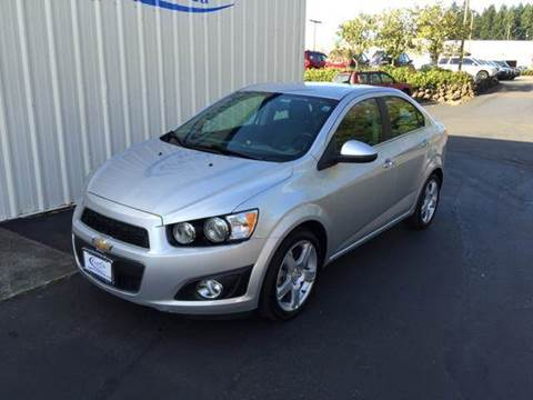 2014 Chevrolet Sonic for sale in Olympia WA