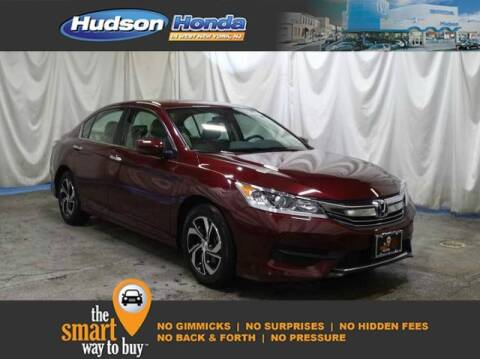 2017 Honda Accord LX for sale at Hudson Honda in West New York NJ