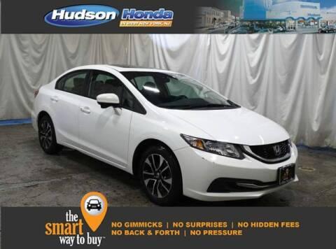 2015 Honda Civic EX for sale at Hudson Honda in West New York NJ