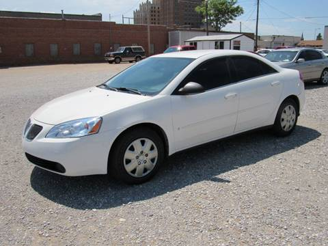 2007 Pontiac G6 for sale in Enid OK