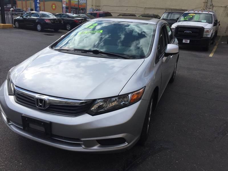 2012 Honda Civic EX 4dr Sedan - Atlantic City NJ