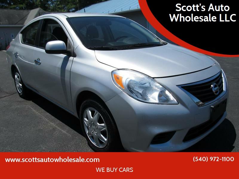 2013 Nissan Versa For Sale At Scottu0027s Auto Wholesale LLC In Locust Grove VA
