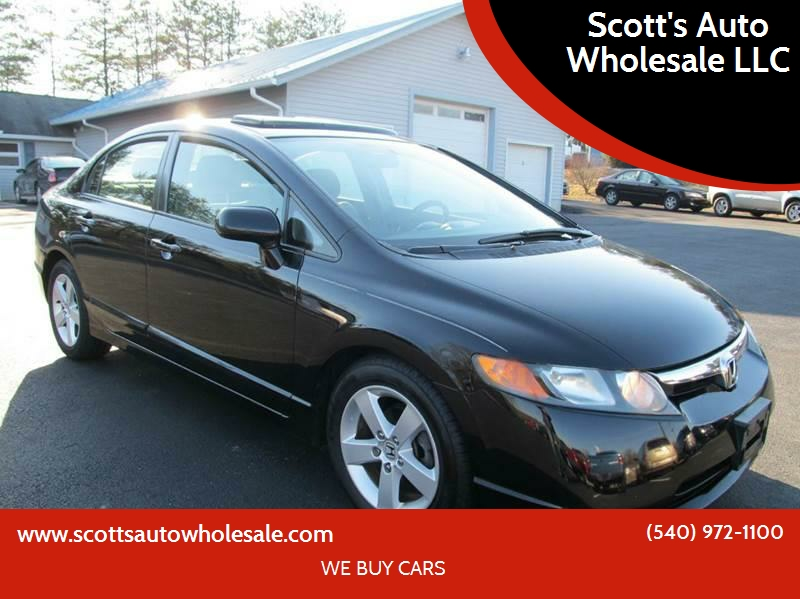 2007 Honda Civic For Sale At Scottu0027s Auto Wholesale LLC In Locust Grove VA