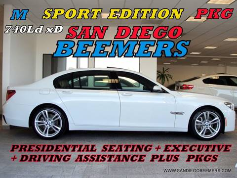 2015 BMW 7 Series for sale in San Diego, CA