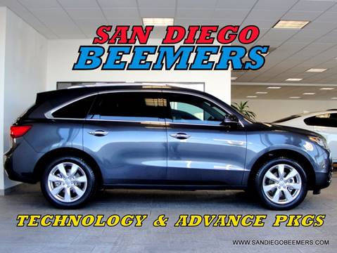 2016 Acura MDX for sale in San Diego, CA