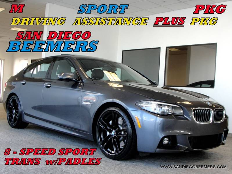 2016 Bmw 5 Series 535d M SPORT+DRIVING ASSIST PLUS+M SUSP+