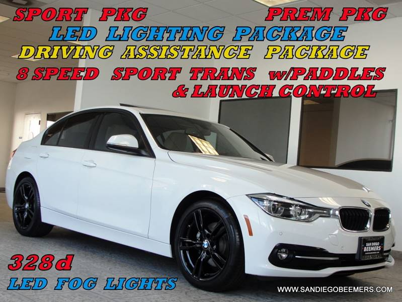 2016 Bmw 3 Series 328d SPORT PKG+LED+NAV+PREM+DRIVING ASSIST