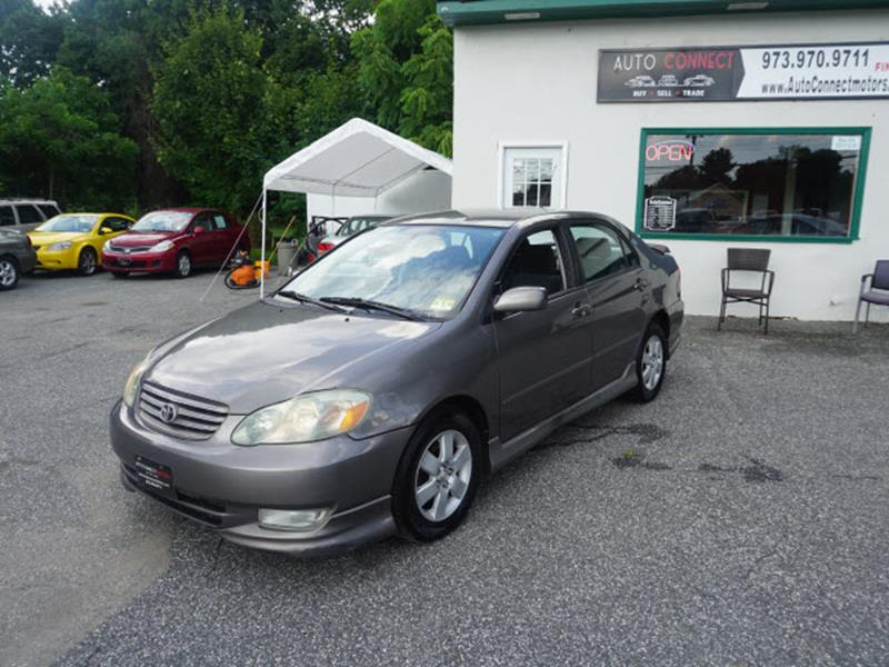 2003 Toyota Corolla For Sale At AutoConnect Motors In Kenvil NJ