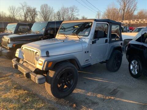 2004 Jeep Wrangler X for sale at AutoConnect Motors in Kenvil NJ