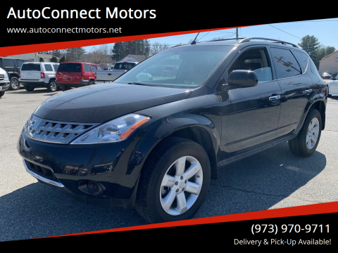 2007 Nissan Murano S for sale at AutoConnect Motors in Kenvil NJ