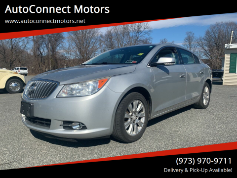 2013 Buick LaCrosse Leather for sale at AutoConnect Motors in Kenvil NJ