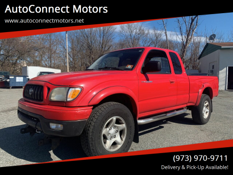 2002 Toyota Tacoma V6 for sale at AutoConnect Motors in Kenvil NJ