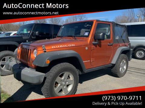2010 Jeep Wrangler Rubicon for sale at AutoConnect Motors in Kenvil NJ