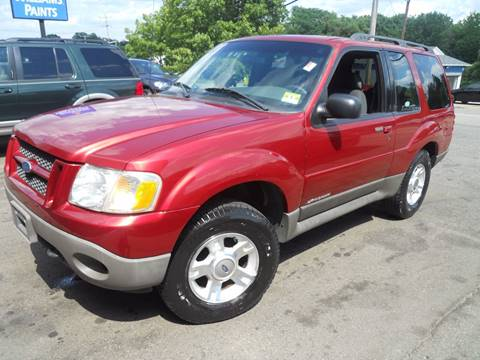 2001 Ford Explorer Sport for sale at AutoConnect Motors in Kenvil NJ