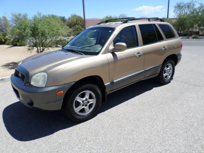 2002 Hyundai Santa Fe LX 2WD 4dr SUV   Tucson AZ