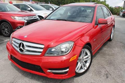 2012 Mercedes-Benz C-Class for sale in Kissimmee, FL