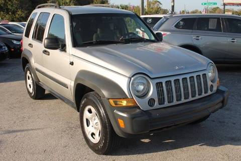 2007 Jeep Liberty for sale at Mars auto trade llc in Kissimmee FL