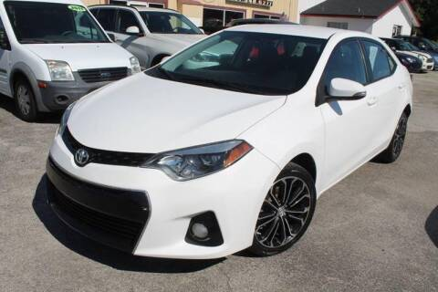 2014 Toyota Corolla S for sale at Mars auto trade llc in Kissimmee FL