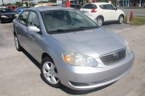 2007 Toyota Corolla LE for sale at Mars auto trade llc in Kissimmee FL