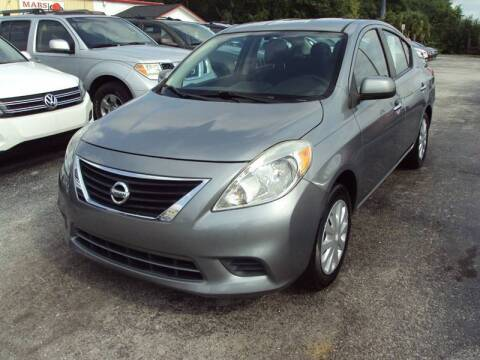 2012 Nissan Versa for sale at Mars auto trade llc in Kissimmee FL