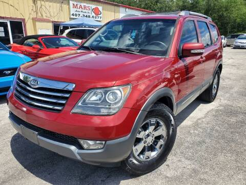 2009 Kia Borrego for sale at Mars auto trade llc in Kissimmee FL