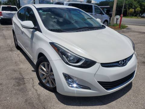 2014 Hyundai Elantra for sale at Mars auto trade llc in Kissimmee FL