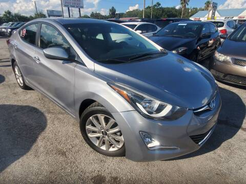 2015 Hyundai Elantra for sale at Mars auto trade llc in Kissimmee FL