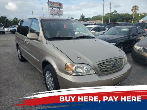 2004 Kia Sedona for sale at Mars auto trade llc in Kissimmee FL