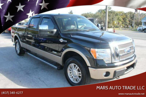 2012 Ford F-150 for sale at Mars auto trade llc in Kissimmee FL