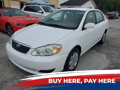 2005 Toyota Corolla for sale at Mars auto trade llc in Kissimmee FL