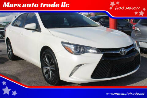 2017 Toyota Camry for sale at Mars auto trade llc in Kissimmee FL