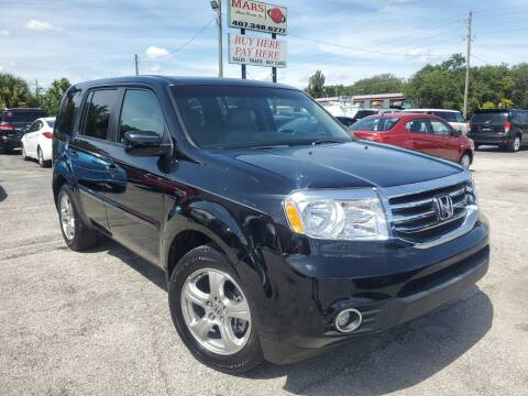2012 Honda Pilot for sale at Mars auto trade llc in Kissimmee FL
