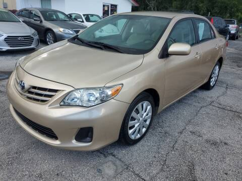2013 Toyota Corolla for sale at Mars auto trade llc in Kissimmee FL