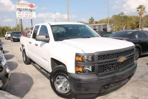 2014 Chevrolet Silverado 1500 for sale at Mars auto trade llc in Kissimmee FL